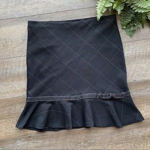 💙💙Express Black w/ White Skirt